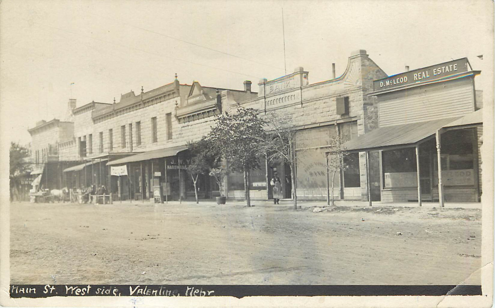 Main Street, West Side, Valentine, Nebraska