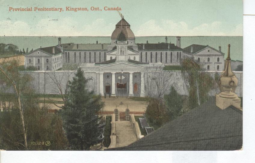 Provincial Penitentiary, Kingston, Ontario, Canada