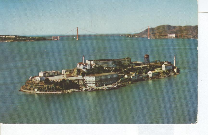 "ALCATRAZ ISLAND San Francisco Bay ""The Rock"" Penitentiary"