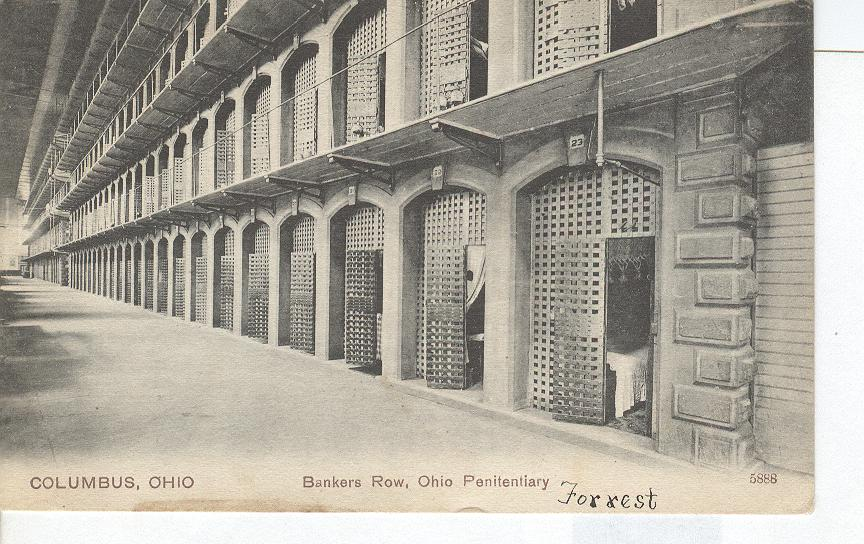 Columbus, Ohio Bankers Row Ohio Penitentairy