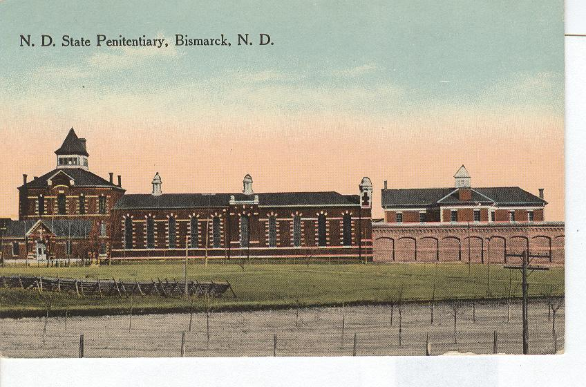 ND State Penitentiary Bismarck ND