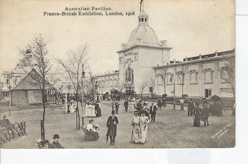 Australian Pavilion, Franco-British Exhibition, London, 1908