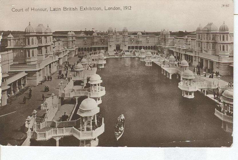 Court of Honour,Latin British Exhibition, London, 1912