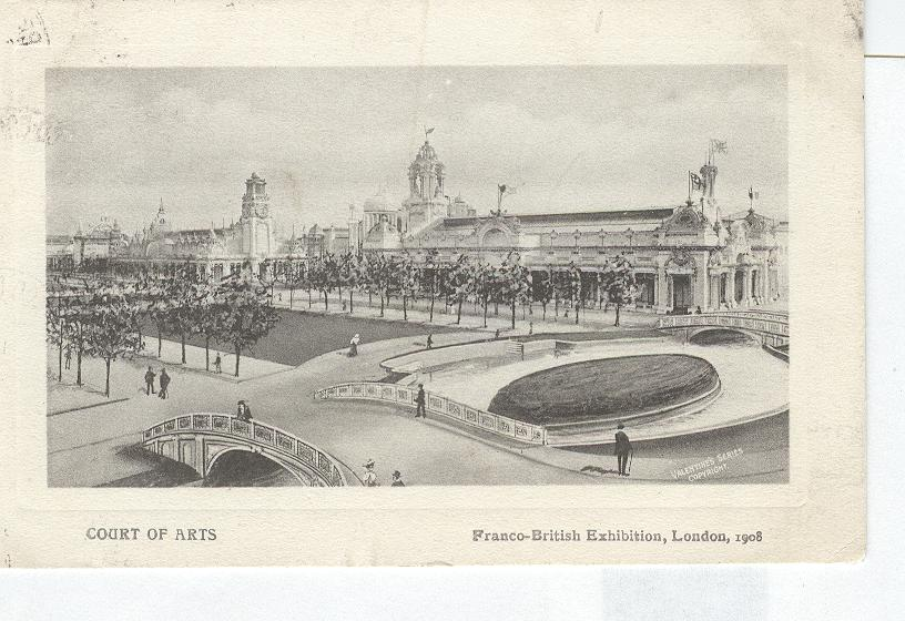 Court of Arts Franco-British Exhibition London 1908