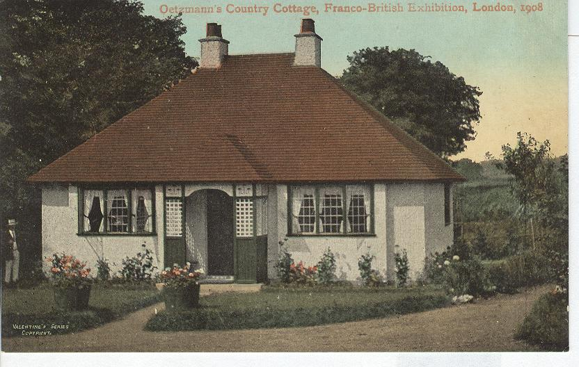 Oetzmann's Country Cottage, Franco-British Exhibition 1908