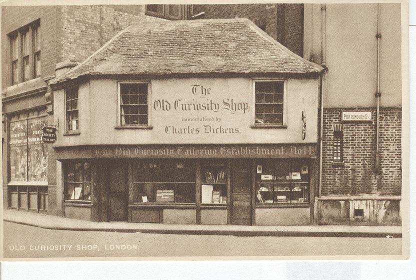 The Old Curiosity Shop Established by Charles Dickens, London