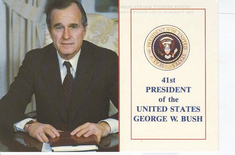 "41st President of the United States "" George W. Bush"""