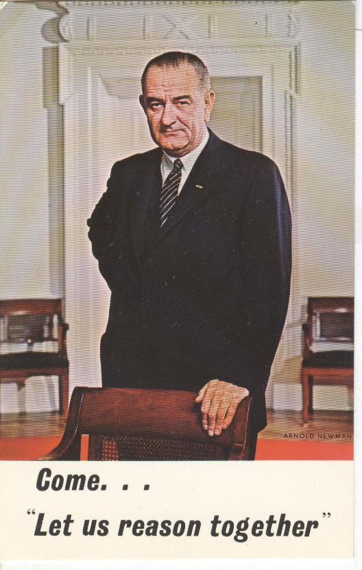 "36th President of the United States "" Lyndon Baines Johnson"""
