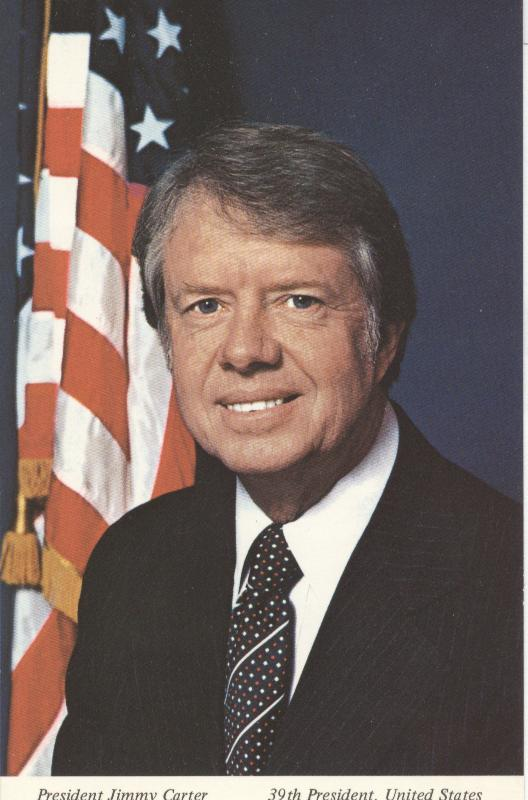President Jimmy Carter...39th President, United States