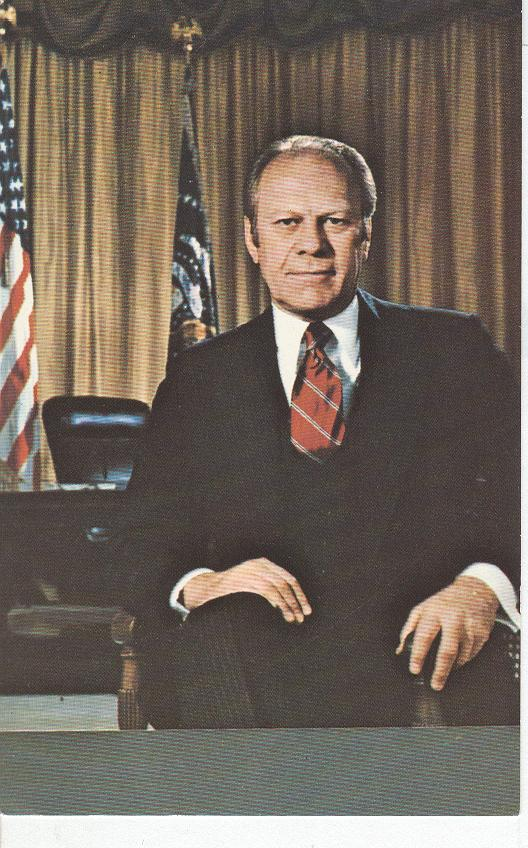 Thirty-Eighth President of The United States, Gerald R. Ford