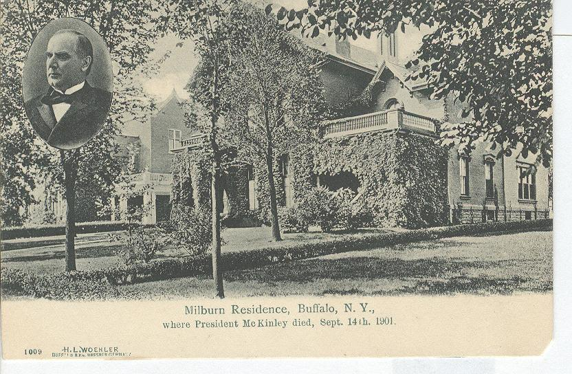 Residence, where President McKinley died, Sept. 14th, 1901