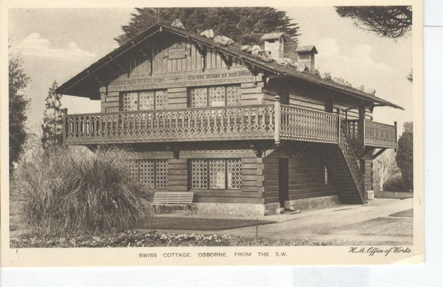 Swiss Cottage... The Osborne House