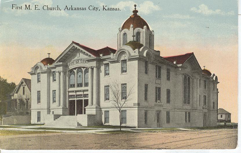 First M.E. Church, Arkansas City, Kansas