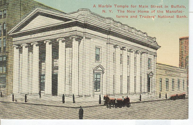 A Marble Temple, for Maine Street.....In Buffalo, N.Y.