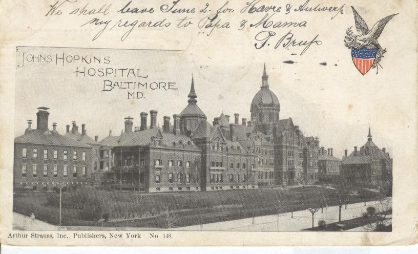 John Hopkins Hospital, Baltimore, M.D.