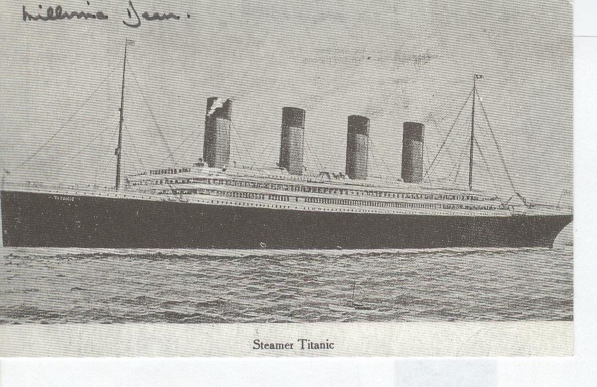Titanic Personally Autographed By Miss Millvina Dean