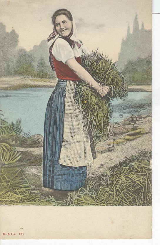 Norway Farm Girl
