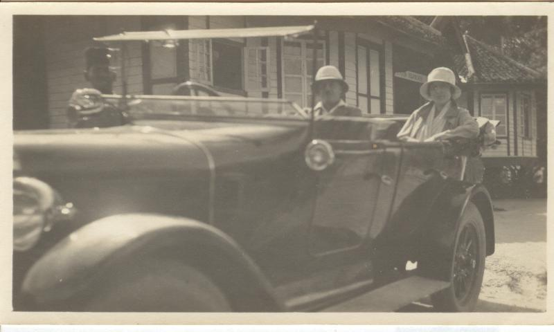 Picture of An Old Car - Real Photo Postcard