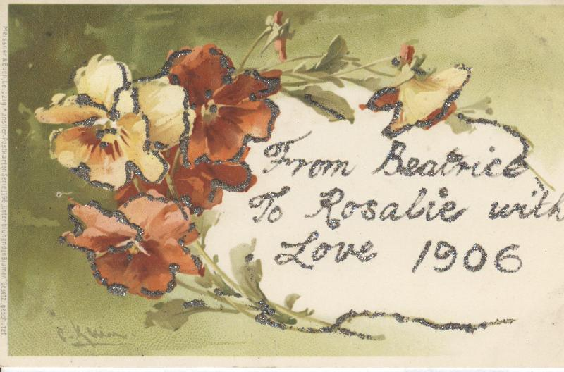 From Beatrice to Rosalie with Love 1906