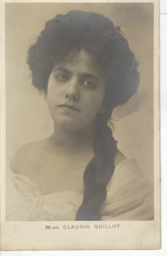 Miss Claudia Guillot Postcard