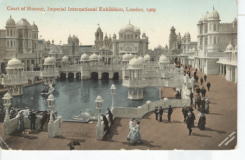 Court of Honor, Imperial International Exhibition, London-1909