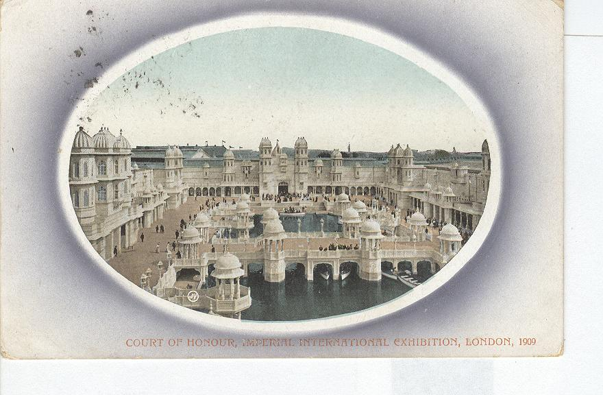 Court of Honour, Imperial International Exhibition, London-1909