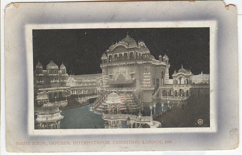Night Scene, Imperial International Exhibition, London, 1909