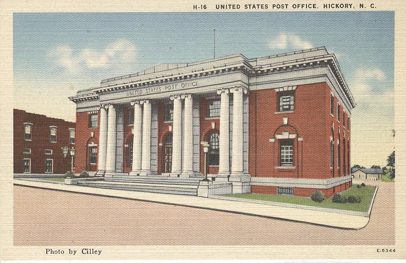 United States Post Office Hickory Nc