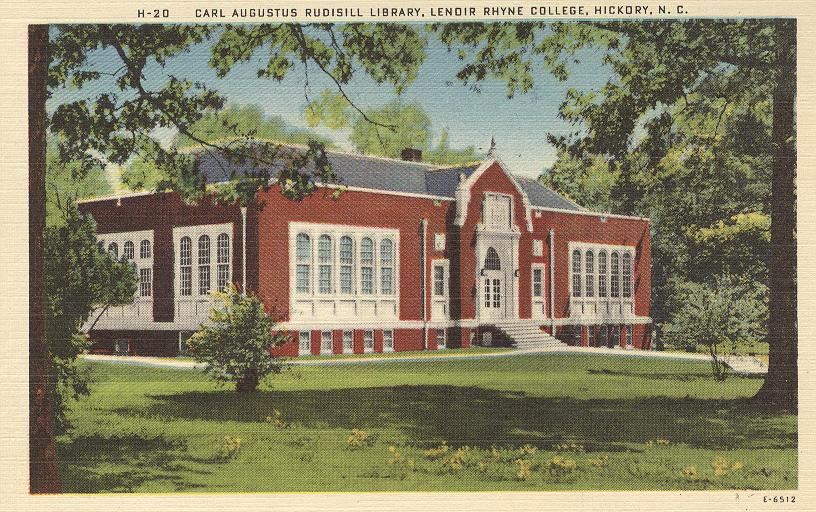 Carl Augustus Rudisill Library Lenoir Rhyne College, Hickory, NC