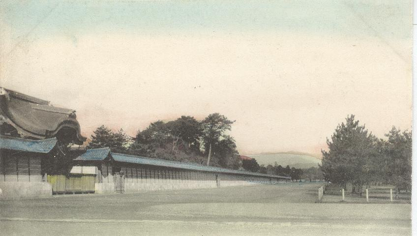 Imperial Palace, Kyoto, Japan 1909