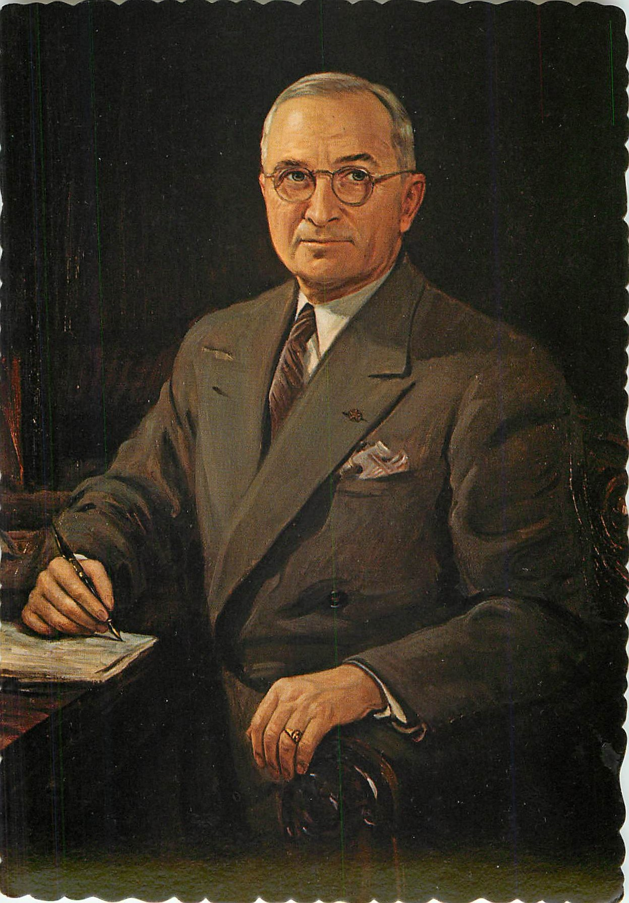"""Portrait of Harry S. Truman"""