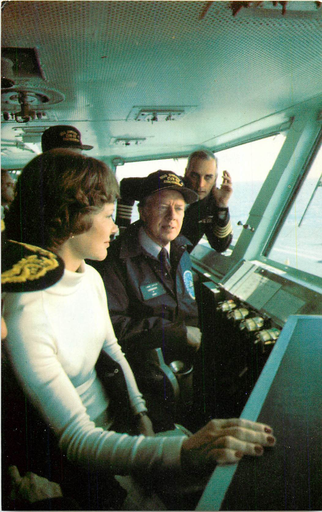 """Captaining the U.S.S Eisenhower"""