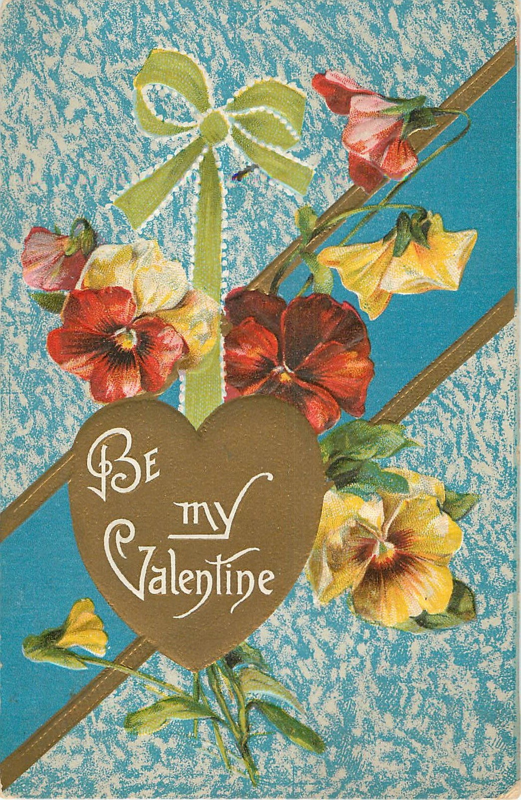 Be My Valentine Pansy