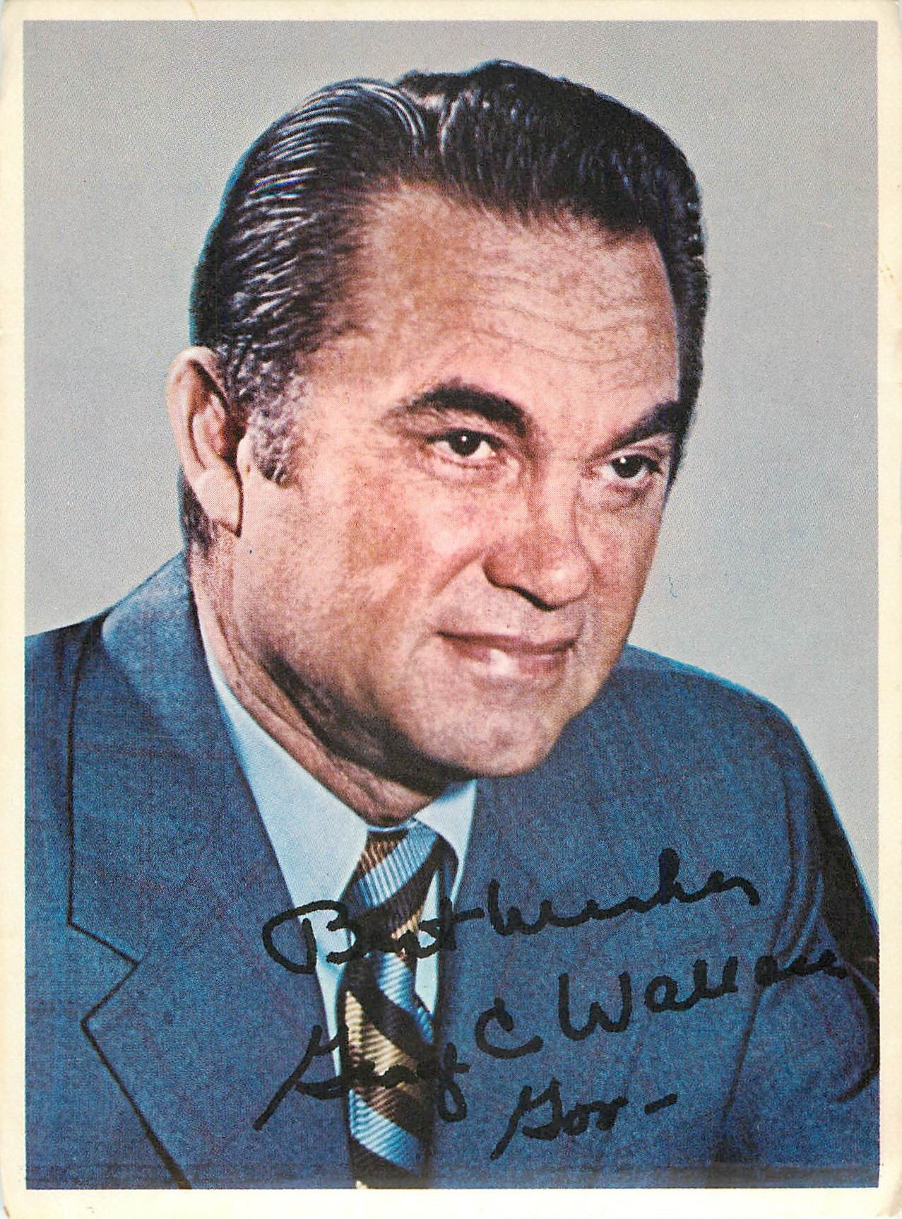 George C Wallace; Paid Political Advertising