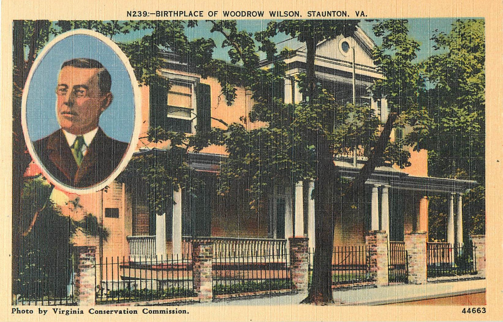 Birthplace of Woodrow Wilson